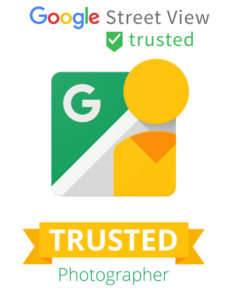 "360° photographers certified as ""Google Trusted"" we make virtual tour of your business simple and affordable."