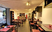 visite virtuelle bar hanse café à Genève